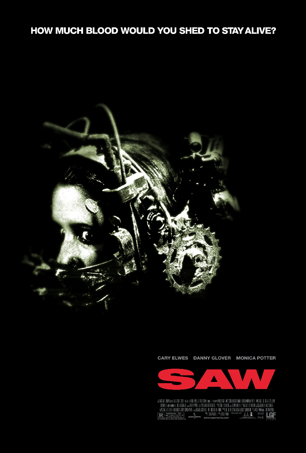 Saw (2004) BluRay 720p & 1080p