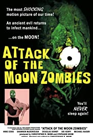 Attack of the Moon Zombies Poster