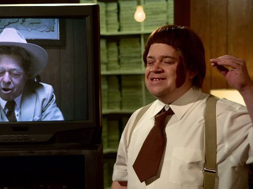 Jonathan Hadary and Patton Oswalt in The Heart, She Holler (2011)