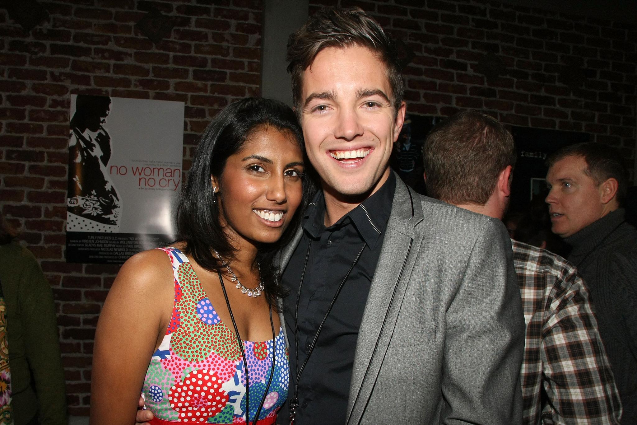 Philip Lyall and Nimisha Mukerji