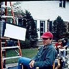 Director Hal Salwen on the set of Denise Calls Up