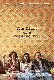 Alexander Skarsgård, Kristen Wiig, and Bel Powley in The Diary of a Teenage Girl (2015)