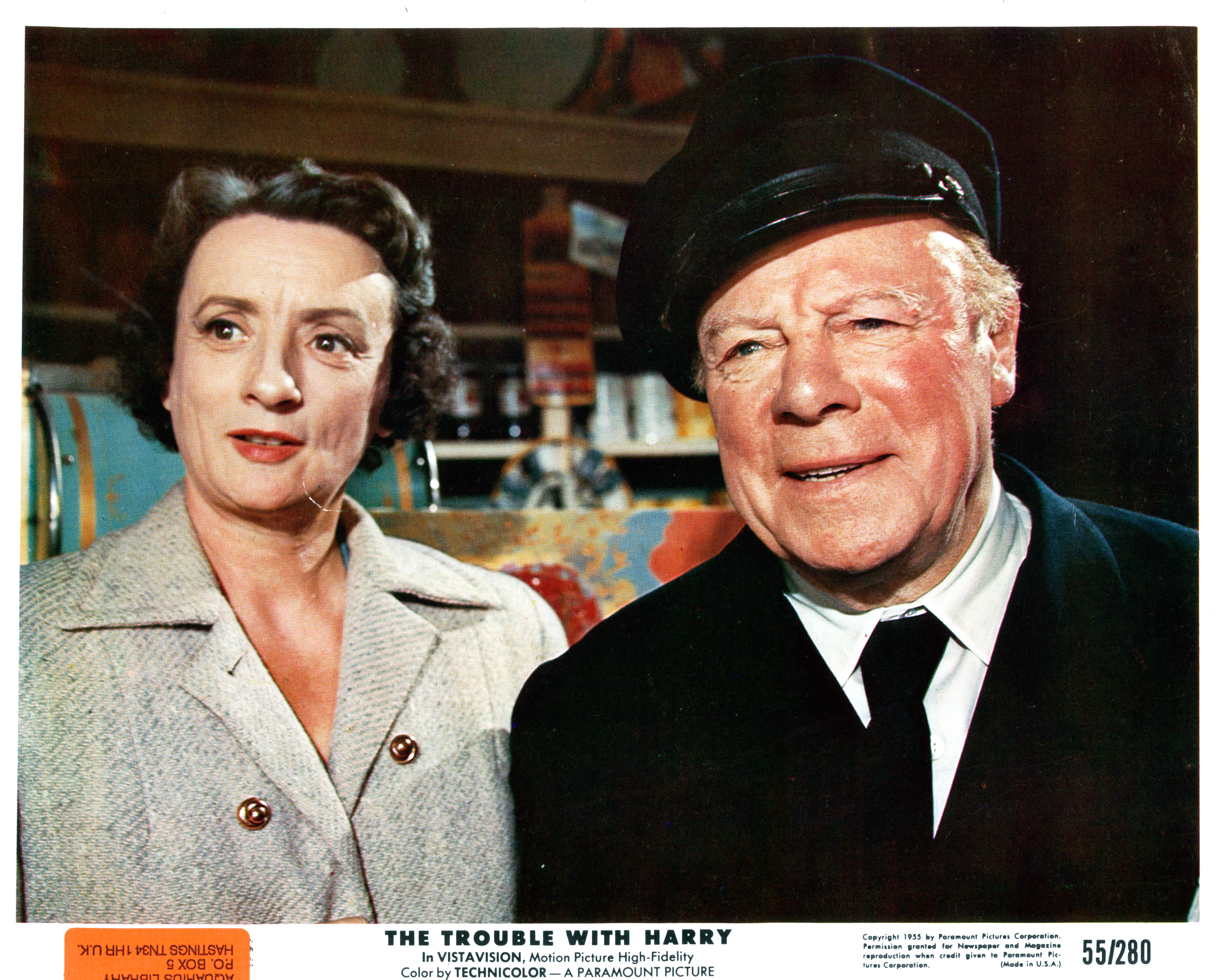 Edmund Gwenn and Mildred Natwick in The Trouble with Harry (1955)