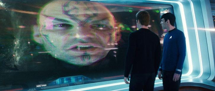 Eric Bana, Zachary Quinto, and Chris Pine in Star Trek (2009)