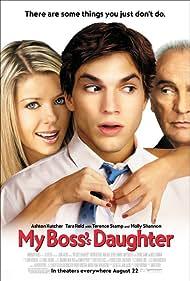Terence Stamp, Ashton Kutcher, and Tara Reid in My Boss's Daughter (2003)