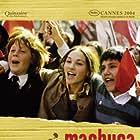 Ariel Mateluna, Matías Quer, and Manuela Martelli in Machuca (2004)