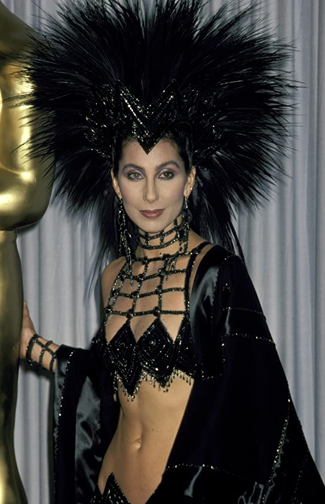Cher at an event for The 58th Annual Academy Awards 1986