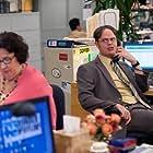 Phyllis Smith and Rainn Wilson in The Office (2005)