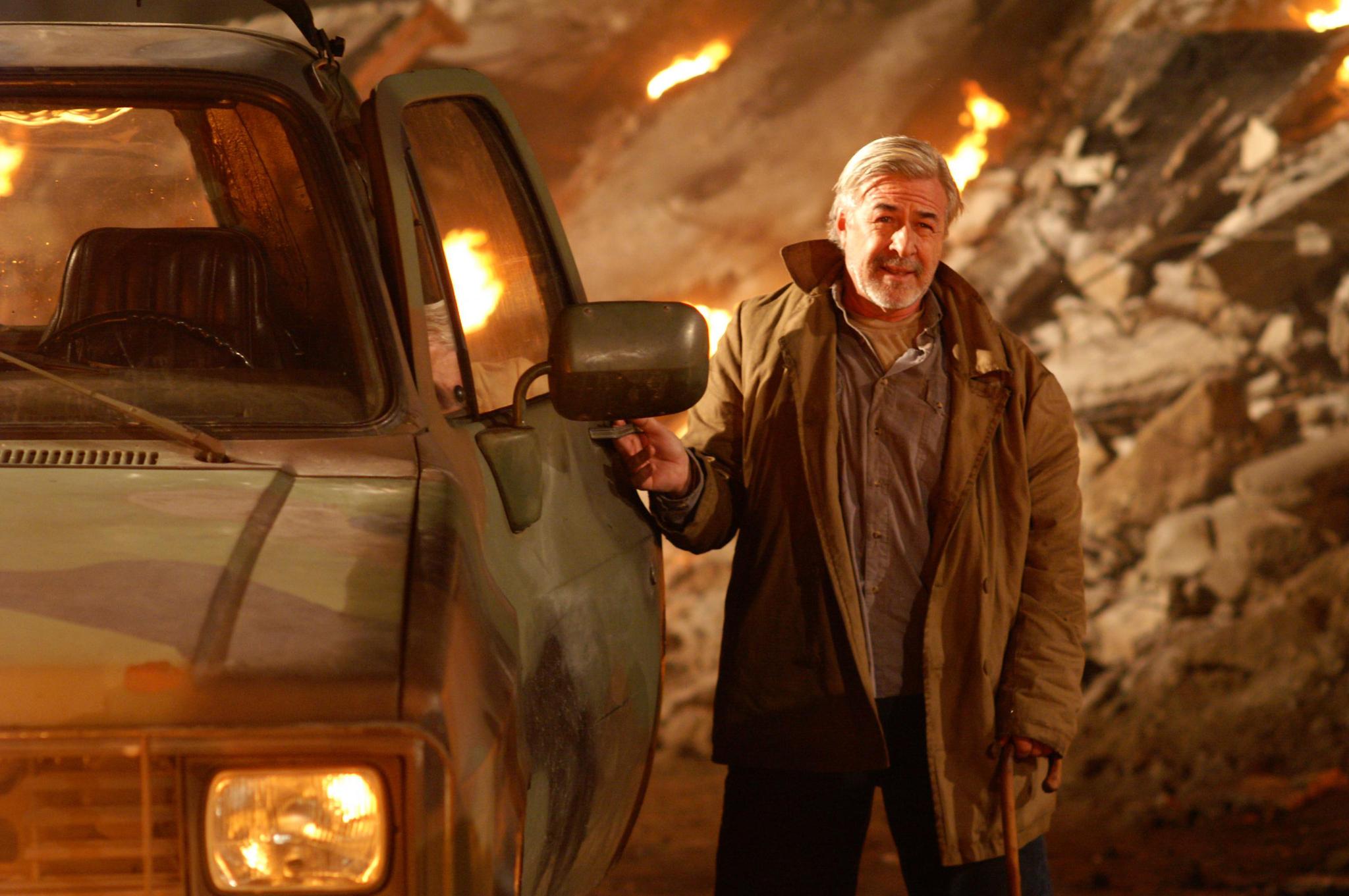 Jim Byrnes in Highlander: The Source (2007)