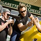 Quentin Tarantino and Kurt Russell in Grindhouse (2007)
