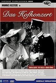 Das Hofkonzert Poster