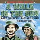 Dana Andrews, John Ireland, and Herbert Rudley in A Walk in the Sun (1945)
