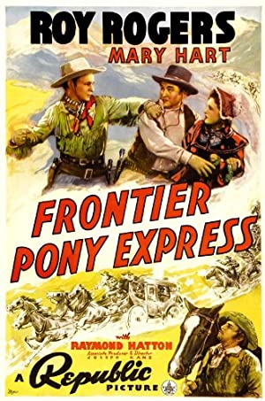 Where to stream Frontier Pony Express