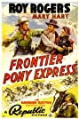 Frontier Pony Express (1939) Poster