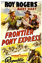 Frontier Pony Express Poster