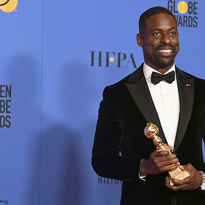 Sterling K. Brown at an event for 75th Golden Globe Awards (2018)