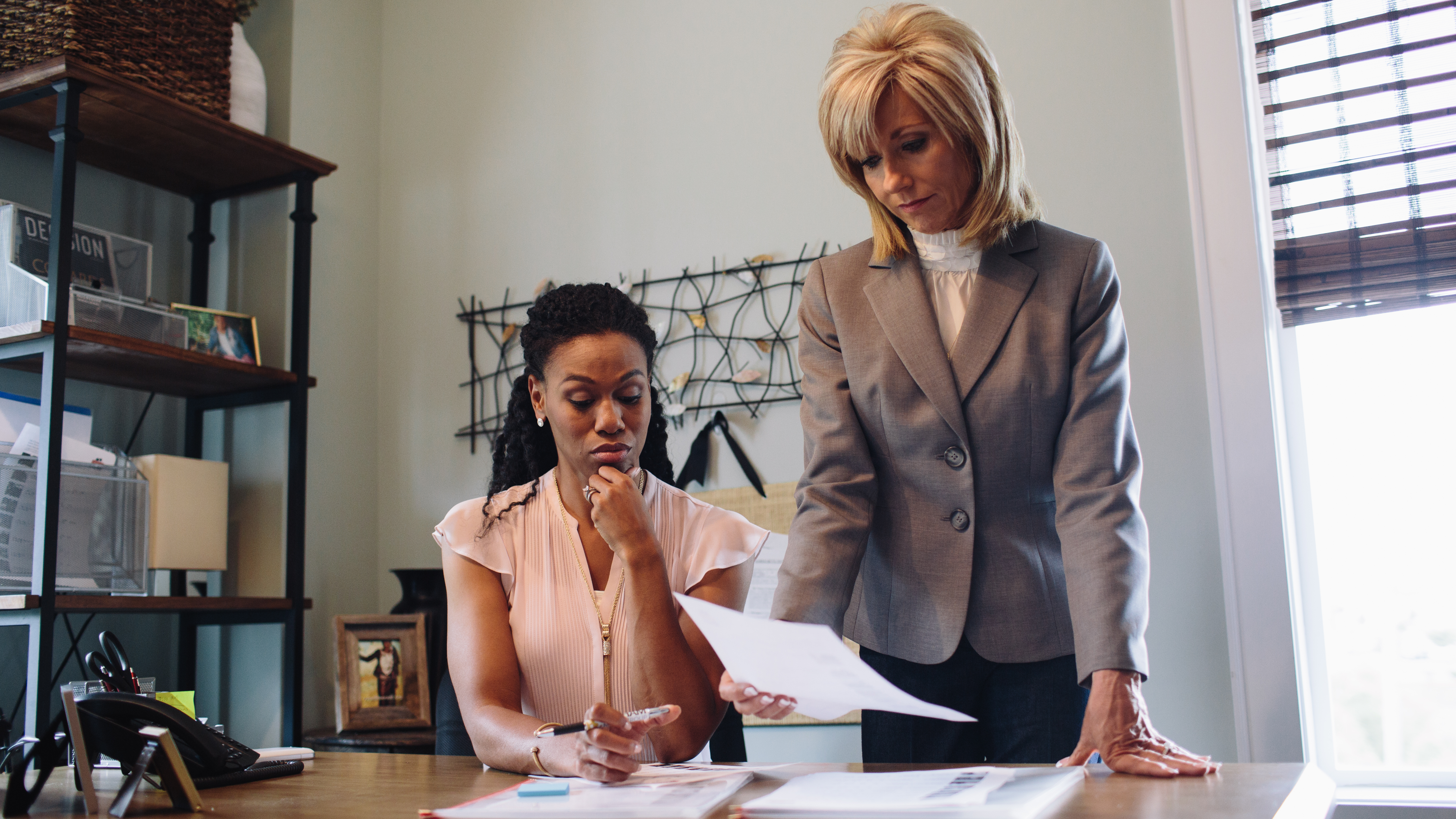 Priscilla C. Shirer and Beth Moore in War Room (2015)