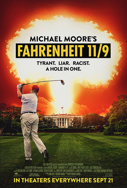 Fahrenheit 11/9 movie poster thumbnail link to detail view