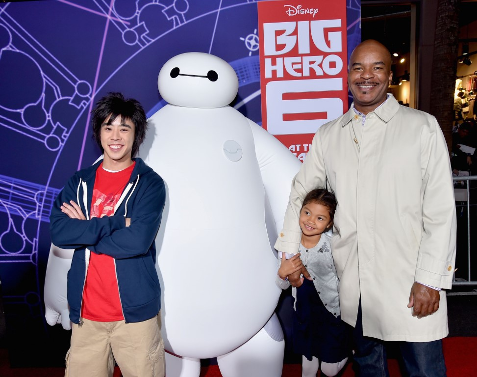David Alan Grier at an event for Big Hero 6 (2014)