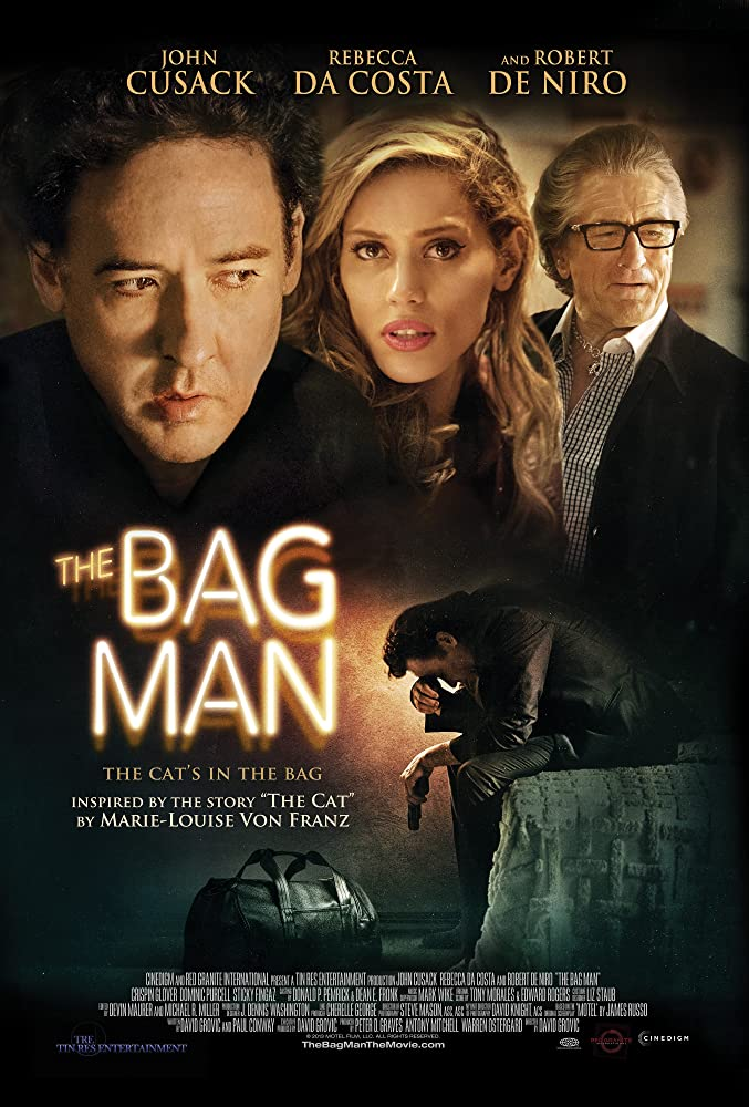 John Cusack, Robert De Niro, and Rebecca Da Costa in The Bag Man (2014)