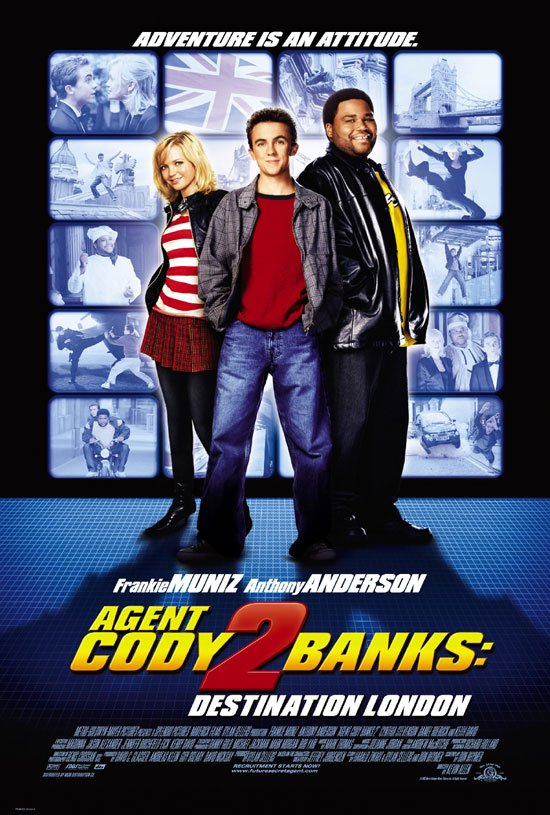 Agentas Kodis Benksas 2. Užduotis Londone / Agent Cody Banks 2: Destination London (2004)