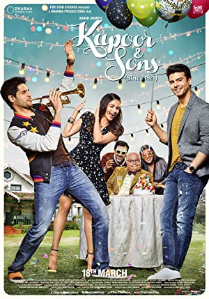 Where to stream Kapoor & Sons