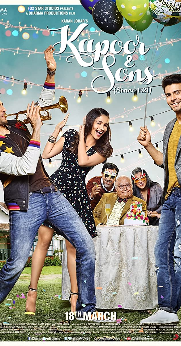 Subtitle of Kapoor & Sons