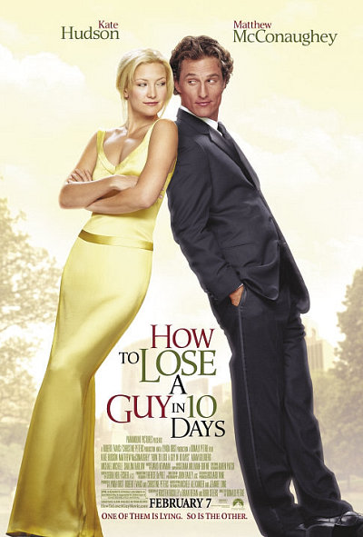 How to Lose a Guy in 10 Days (2003) Dual Audio [Hindi-DD5.1] 400MB BluRay 480p Download