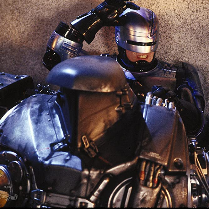 Peter Weller in RoboCop 2 (1990)