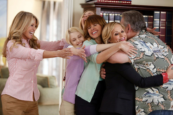 Christie Brinkley, Katie Gill, Maliabeth Johnson, Jim O'Heir, Amy Poehler, and Sarah Wright in Parks and Recreation (2009)