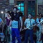 Elijah Wood, Alison Pill, Rainn Wilson, Leigh Whannell, Jack McBrayer, Nasim Pedrad, and Morgan Lily in Cooties (2014)