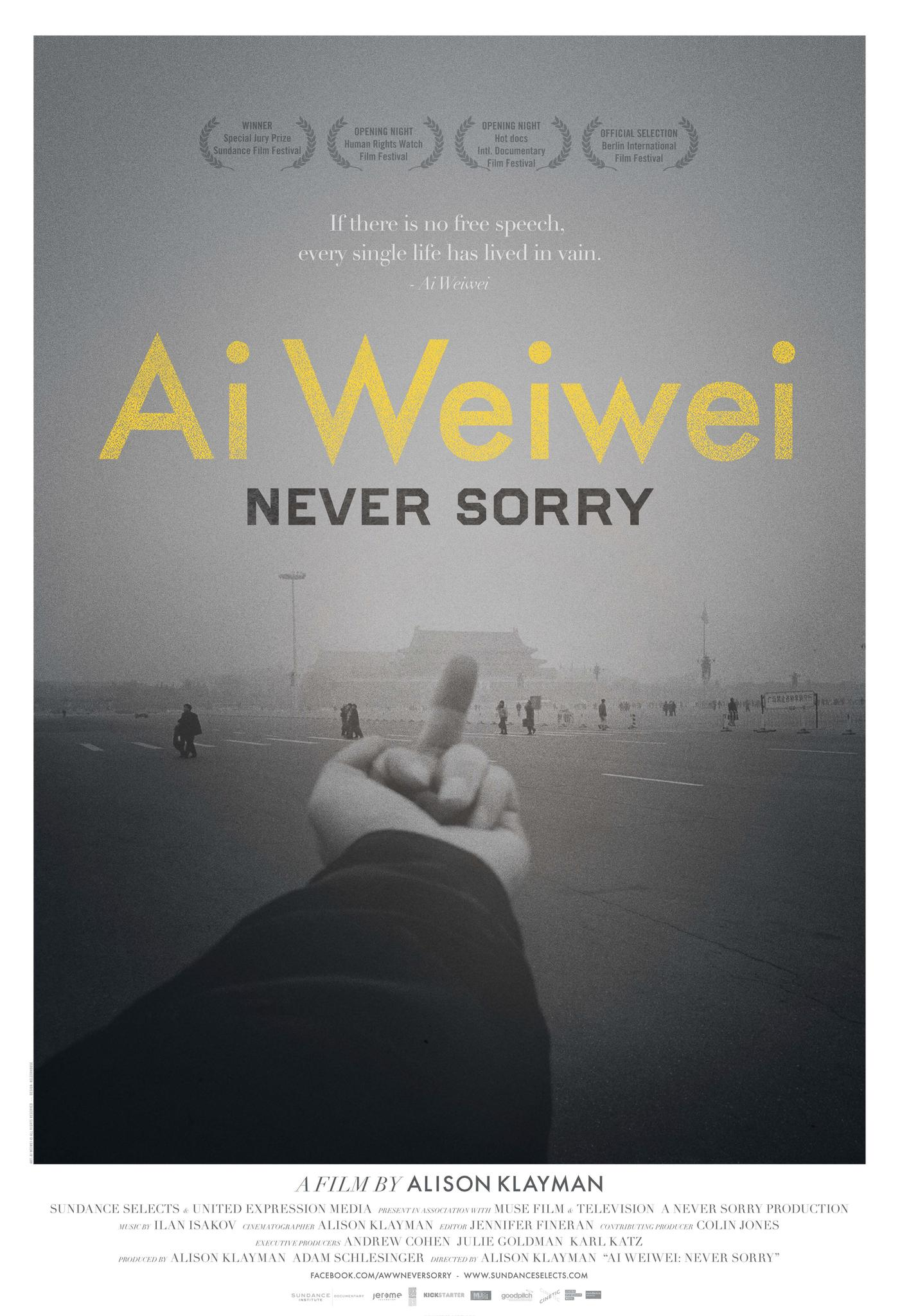 ai weiwei never sorry watch online free english subtitles