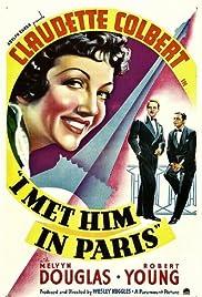 I Met Him in Paris Poster