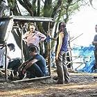 Jeff Fahey, Michael Emerson, Matthew Fox, Yunjin Kim, Ken Leung, and Zuleikha Robinson in Lost (2004)