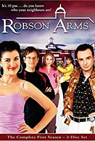 John Cassini, Mark McKinney, and Gabrielle Miller in Robson Arms (2005)