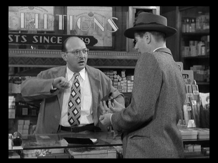 Robert H. Harris and Don Taylor in The Naked City (1948)