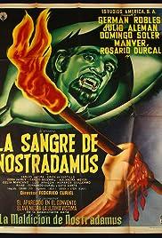 La sangre de Nostradamus Poster