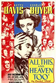 Watch Free All This, and Heaven Too (1940)