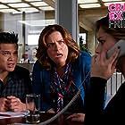 Donna Lynne Champlin, Rachel Bloom, and Vincent Rodriguez III in Crazy Ex-Girlfriend (2015)