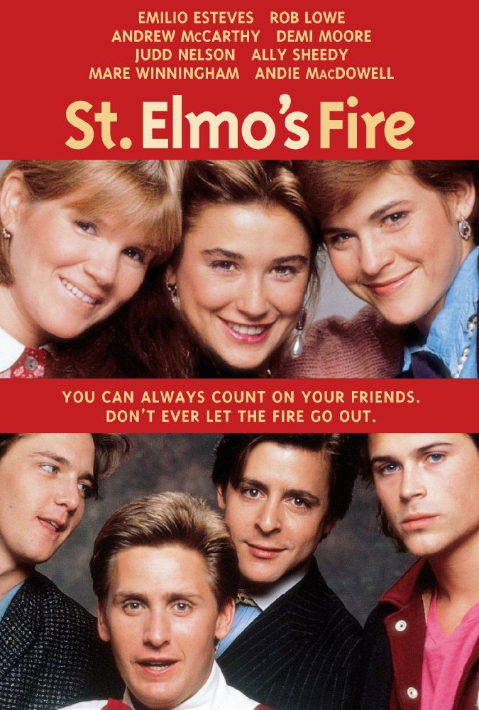 St Elmos Fire 1985 Photo Gallery Imdb