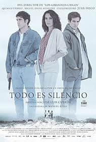 Quim Gutiérrez, Miguel Ángel Silvestre, and Celia Freijeiro in Todo es silencio (2012)