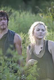 Norman Reedus and Emily Kinney in The Walking Dead (2010)