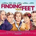 Timothy Spall, Imelda Staunton, David Hayman, Celia Imrie, and Joanna Lumley in Finding Your Feet (2017)