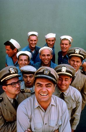 McHales Navy Ernest Borgnine and Cast 1962 Universal  ABC