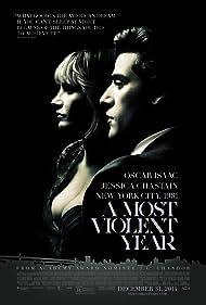 Albert Brooks, Alessandro Nivola, David Oyelowo, Oscar Isaac, and Jessica Chastain in A Most Violent Year (2014)