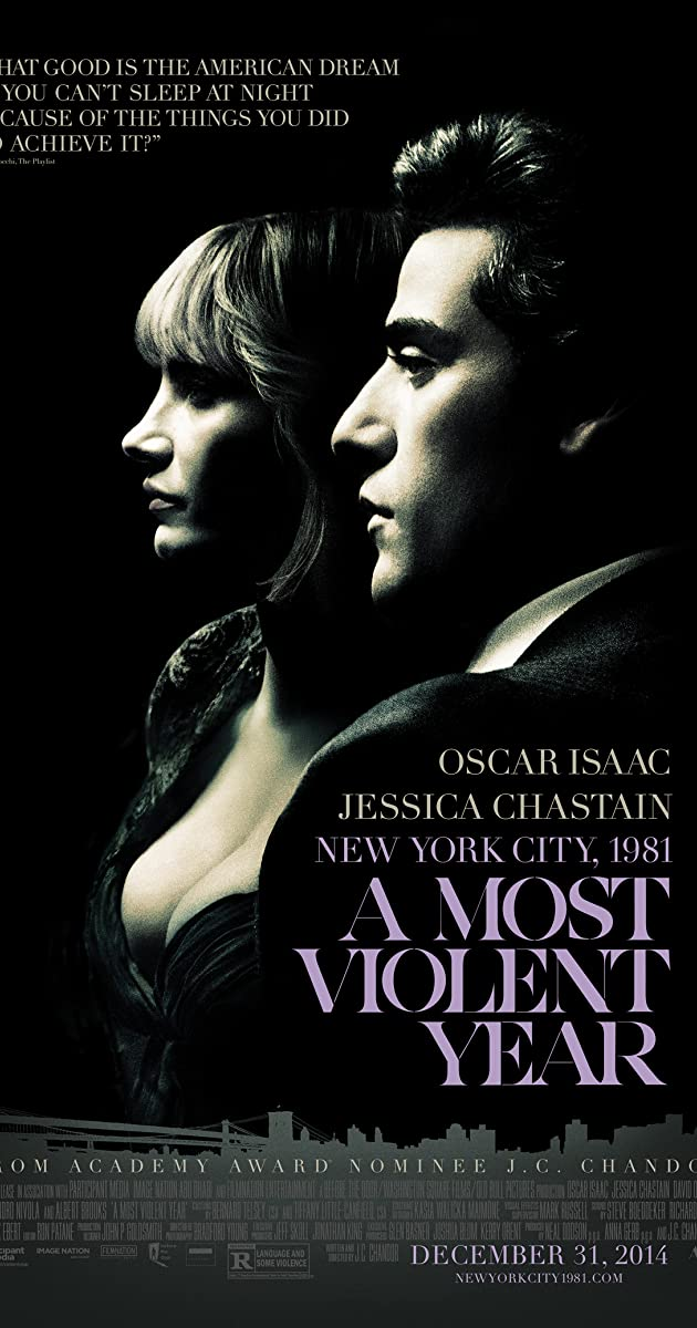 Subtitle of A Most Violent Year