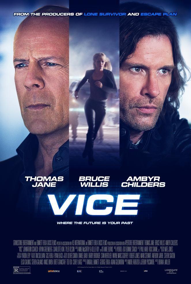 Poster film Vice.