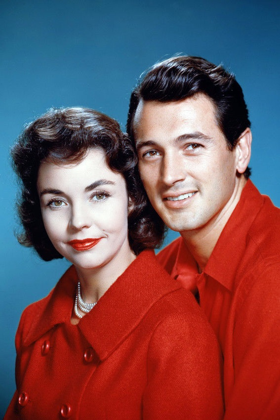 Rock Hudson and Jennifer Jones in A Farewell to Arms (1957)