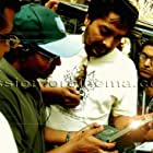 Anurag Kashyap, Raj Kumar Gupta, and Param Kalra in No Smoking (2007)