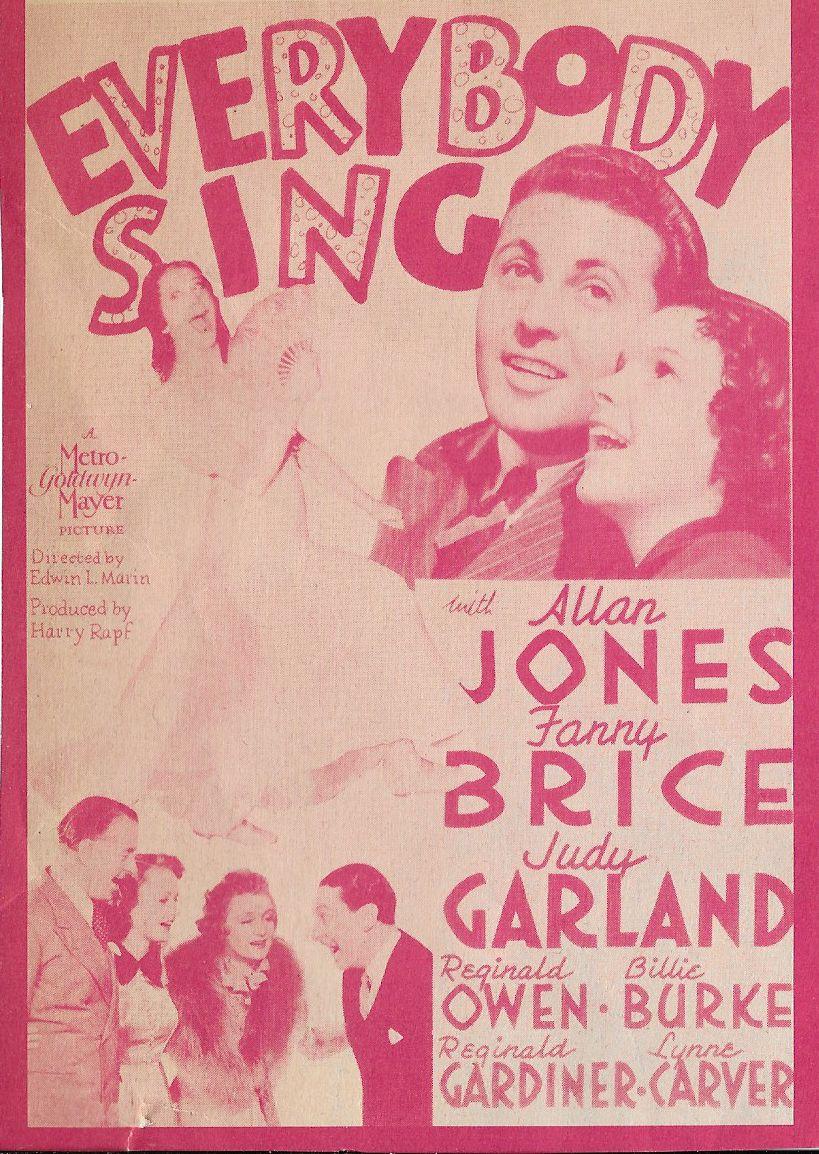 Judy Garland, Billie Burke, Lynne Carver, Reginald Gardiner, Allan Jones, and Reginald Owen in Everybody Sing (1938)